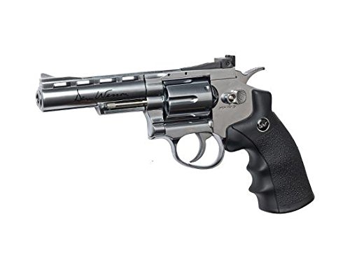 Dan Wesson CO2 BB Revolver, Silver, 8
