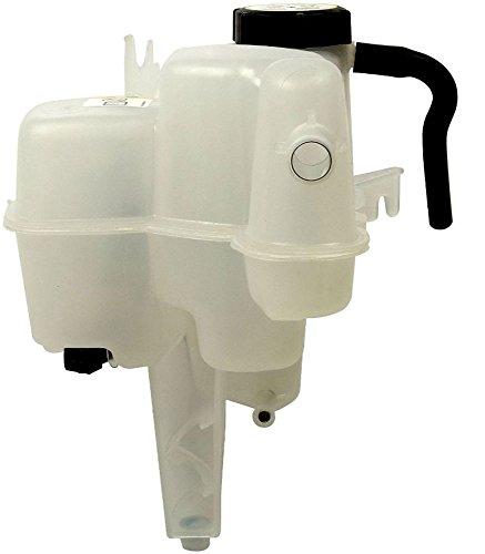 (APDTY 714316 Coolant Reservoir Fluid Overflow Plastic Bottle Housing Includes Coolant Level Sensor Cap & Drain Hose Fits 2001-2006 Ford Escape or Mazda Tribute 2005-2006 Mercury Mariner)