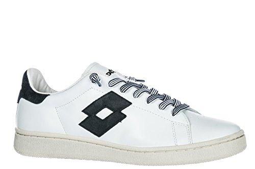 blu Lotto Pelle Autograph Sneakers Leggenda Bianco Uomo FYYAw7qvZW