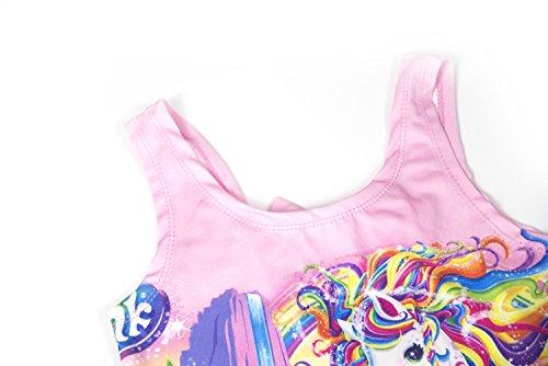 ef0955a18c1b1 Wenge Girls Bathing Suits Rainbow Unicorn Swimsuits One Piece Swimwear 3-8  Years