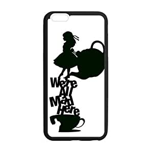 Alice In Wonderland Design TPU Snap On Back Case For iphone 6 plus 5.5 inch, Cellphone accessories