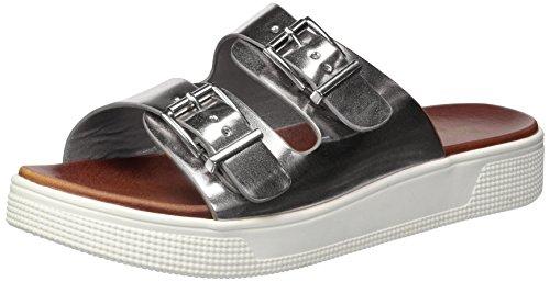 MIA WoMen Venessa Flat Sandal Silver