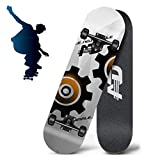 Grist CC Skateboard Deck, Maple Deck for Perfecting Your Trick - Learn, Practice and Land Tricks in No Time!