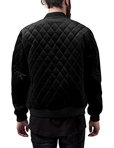 Homme Velvet Classics Jacket Noir Blouson Quilt Urban Diamond black wqSZY7x