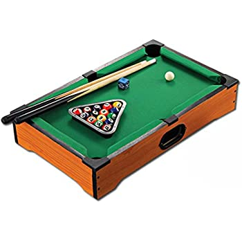 Amazoncom WGW Mini Tabletop Ball Billiards Home Billiard Game Sets - United billiards pool table parts