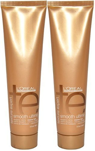 L'Oreal Texture Expert Smooth Ultime Creme, 5 Ounce (2 Pack)