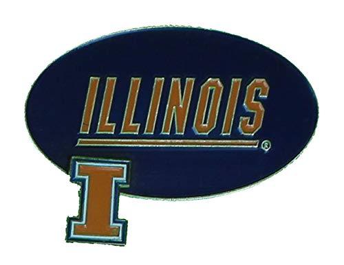 (Alumni Association Illinois Fighting Illini Lapel Pin Gold)