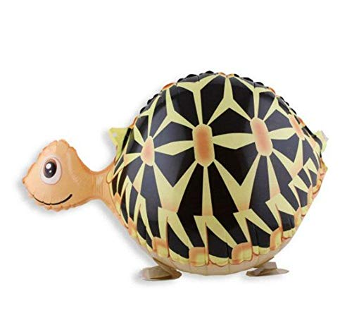 Birthday Kids Party Toy Walking Turtle Helium Balloon, Set of 3