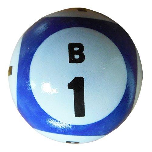Five Color Six Side Print Bingo Balls