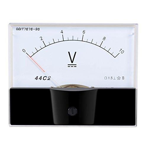 uxcell DC 0-10V Analog Panel Voltage Gauge Volt Meter 44C2 1.5% Error