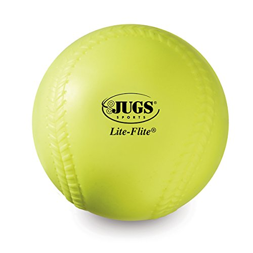 Jugs Lite Flite Pitching Machine (Jugs Lite-Flite 11-Inch Softballs (One Dozen))