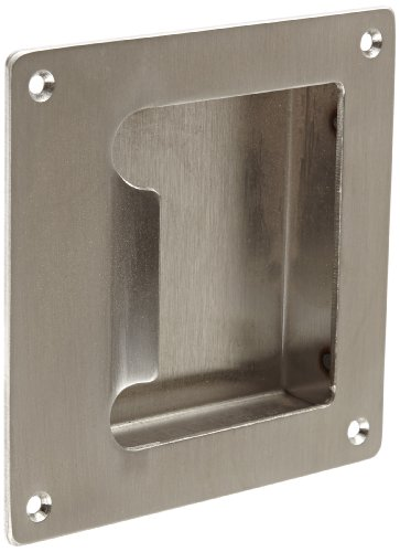 - Rockwood BF97.32D Stainless Steel Barrier Free Flush Pull, Sheet Metal Screw Fasteners, 5