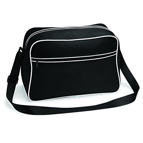 Única Bolso Bagbase De Mujer Y Blanco Talla Negro Para Asas 0dd7rq