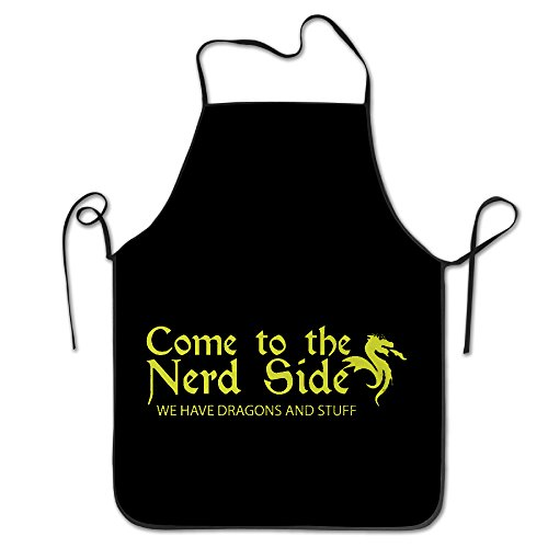 (Scientist Gamer Nerd Dragon Nerdy Gift Cool Apron Cute Aprons)