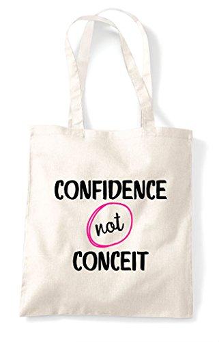 Shopper Natural Confidence Conceit Tote Not Bag wxCAfa