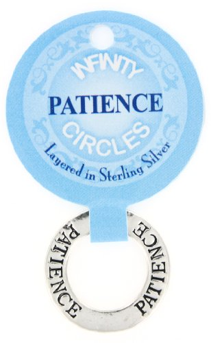 Patience Infinity Circles Pendant