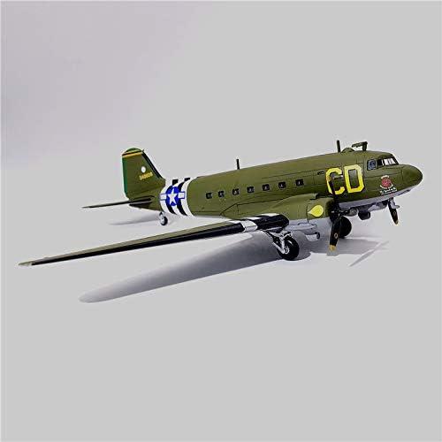 FloZ WWII USA C-47 CD 1//100 diecast Plane Model Aircraft