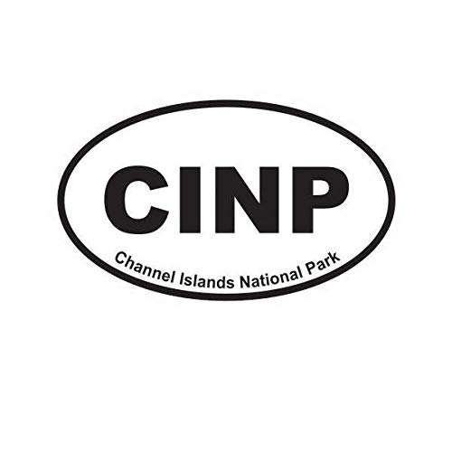 (ION Graphics Channel Islands National Park Oval Sticker Decal Vinyl Euro CINP 5