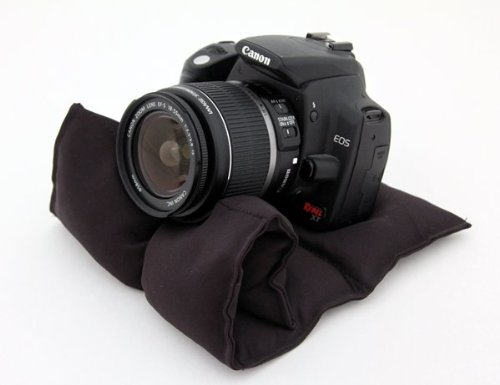 ustable Camera Support System- Camera Bean Bag - Tripod Replacement. For Pentax, Olympus & Fuji cameras ()
