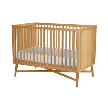 Amazon Com Dwellstudio Mid Century Crib Natural Baby