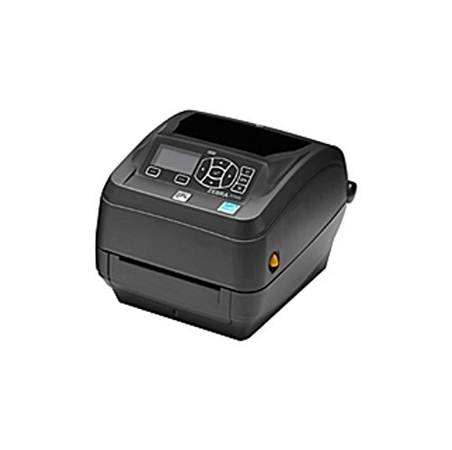 Zebra - ZD500t Thermal Transfer Desktop Printer for Labels and Barcodes - Print Width 4 in - 300 dpi - Interface: Ethernet, Parallel, Serial, USB - ZD50043-T01200FZ