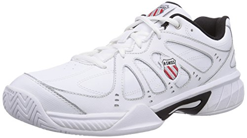 K-Swiss Performance Ks Tfw Express 100-wht/blk/slv/fiery Red - Zapatillas Hombre WHT/BLK/SLV/FIERYRED