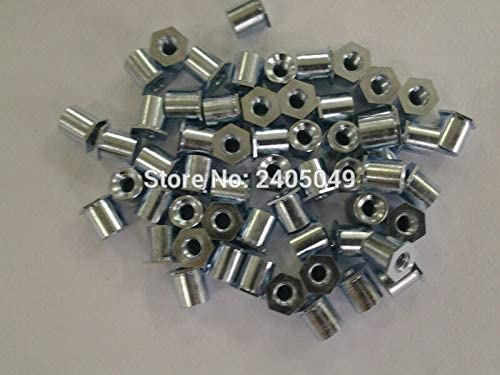 Nuts SO-6440-20 Thru-Hole Threaded standoffs Carbon Steel Plating zinc,PEM Standard,in Stock,