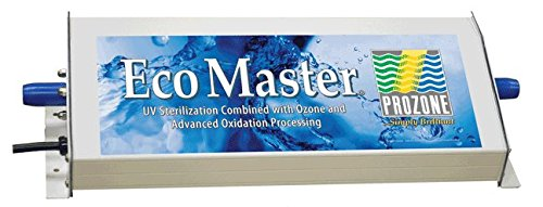 Prozone Water Products ECO Master Residential Pool Ozone/UV Sterilization System, 17 x 6-1/4 x 3-1/2