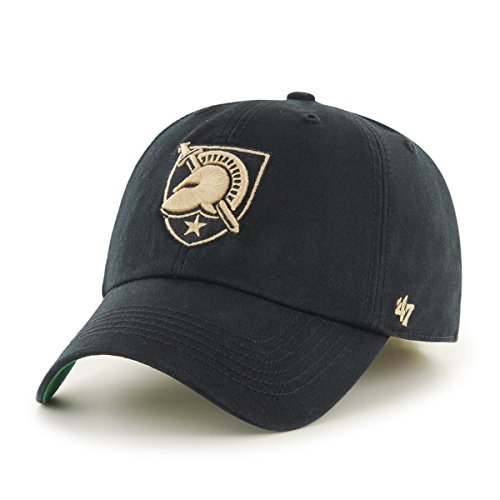 '47 NCAA Army Black Knights Franchise Fitted Hat, Black C, XX-Large (Knights Football Black)