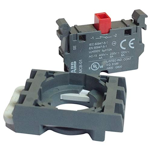 ABB MCBH-01 1 NC CONTACT BLOCK W/HLDR