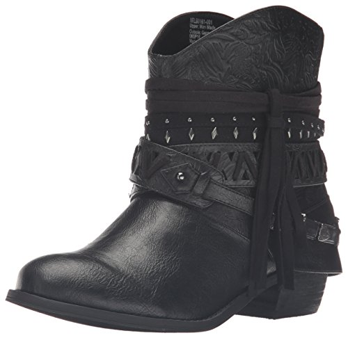 Bootie Ankle Black Naoni Rated Women's Not wtqPAIn