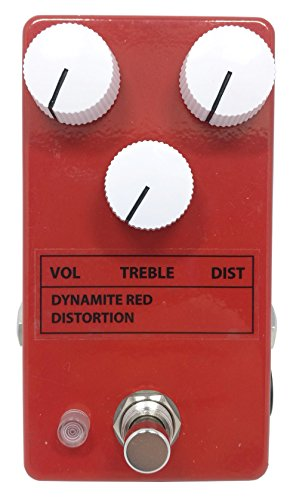 Dynamite Red Distortion Guitar Pedal - 3 knobs version DRD