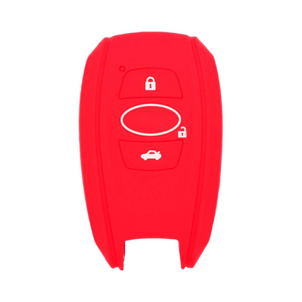 Carcasa Protectora de Silicona para Mando a Distancia de 3 Botones de Subaru FobCV4254 BROVACS