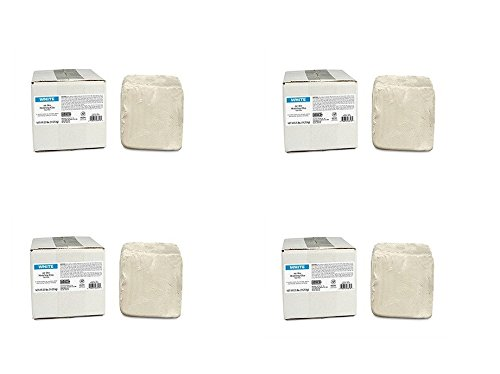 AMACO 46318R Air Dry Clay, 25-Pound, White (Pack of 4)