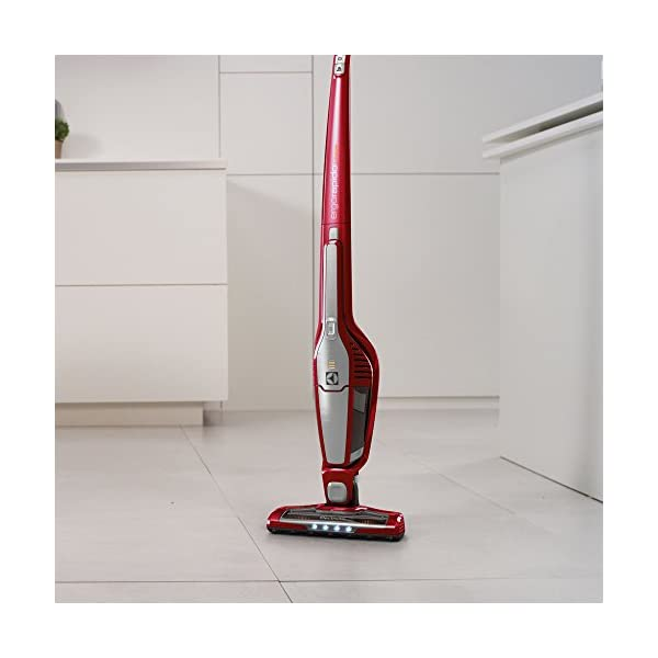 Electrolux ZB3212 portable vacuum cleaner - portable vacuum cleaners (Dry, Bagless, Lithium-Ion (Li-Ion), Grey, Red)