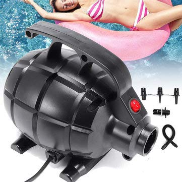 Electric Air Pump for Inflatable GYM Air Track Mat Floor Tumbling Airtrack Gymnastics Mat Inflatable - Camping Airtrack - (UK plug)