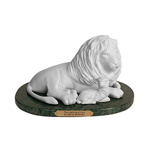 S45 - Lamb and Lion Statue