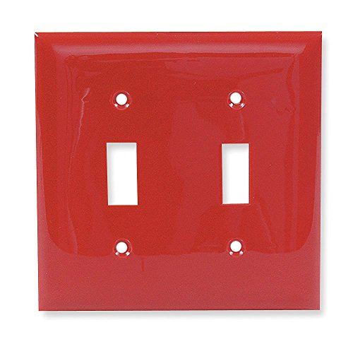 late, Red, Number of Gangsx3a; 2, Weather Resistantx3a; No - 1 Each (Red Standard Switch)