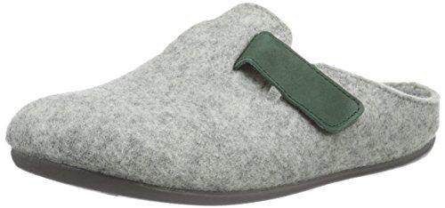 FlorettBritta - pantuflas sin forro Mujer Gris - Grau (Grau 61)