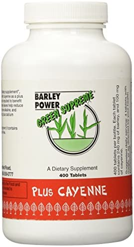 Green Supreme Barley Power Plus Cayenne 400 Tablet