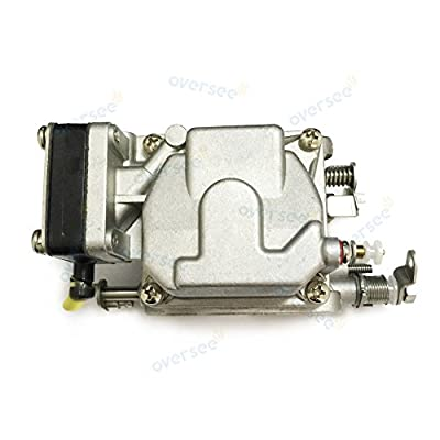 OVERSEE 3G2-03100 Outboard Carburetor For Tohatsu Outboard Motor 9.9HP 15HP 18HP M, Boat Motor Carburetor Assembly, Replacement Carburetor Aftermarket Parts