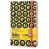 Caderno Edição Limitada, Beatles, Amarelo, Capa Dura, Pautado, Grande