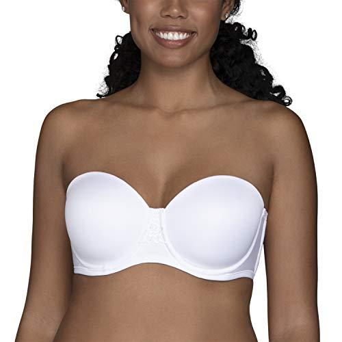 Vanity Fair Women's Beauty Back Strapless Full Figure Underwire Bra 74380, Star White, 44D