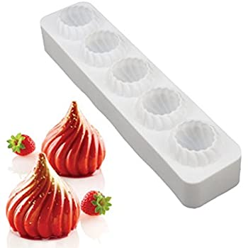 Silicone Cake Molds Russian Tale for Baking Mousse Chocolate Fondant Jelly Pudding Candy Pastry Desserts Mould,Nonstick,BPA Free (Russian Tale)