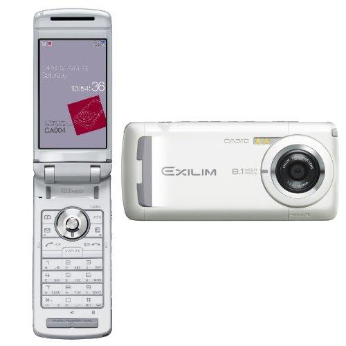 EXILIMケータイ CA004(ピュアホワイト)