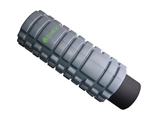 GreEco Combo Revolutionary Foam Roller, High Density Extra Firm & Soft For for Deep Tissue Muscle Massage Set of 2