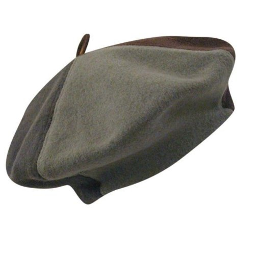 Kangol Color Block Beret, Earth