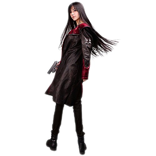 Horries Devil May Cry 5 Game Dante Cosplay Costume Neutral Trenchcoat (Devil May Cry Halloween Costumes)