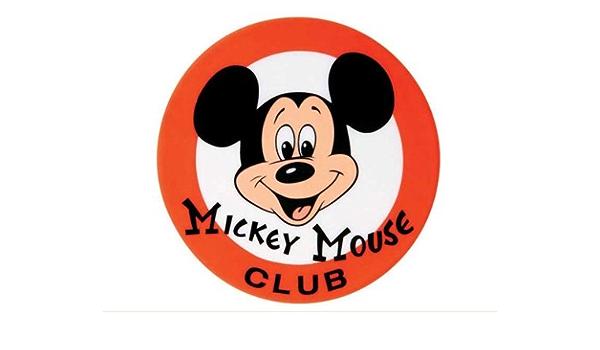 Amazon Com Mickey Mouse Club Logo Home Kitchen