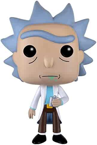 Funko POP Animation: Rick & Morty - Rick Action Figure